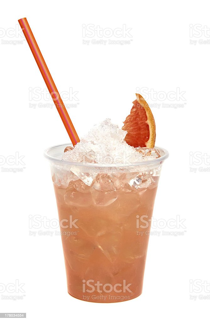 Grapefruit juice stock photo