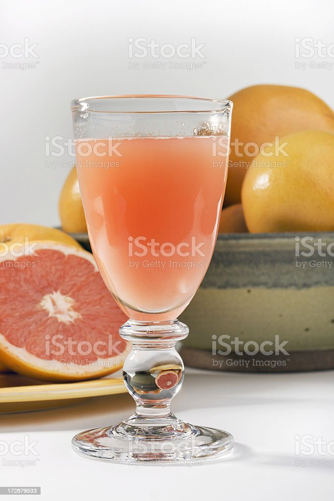 Grapefruit Juice Still Life stock photo