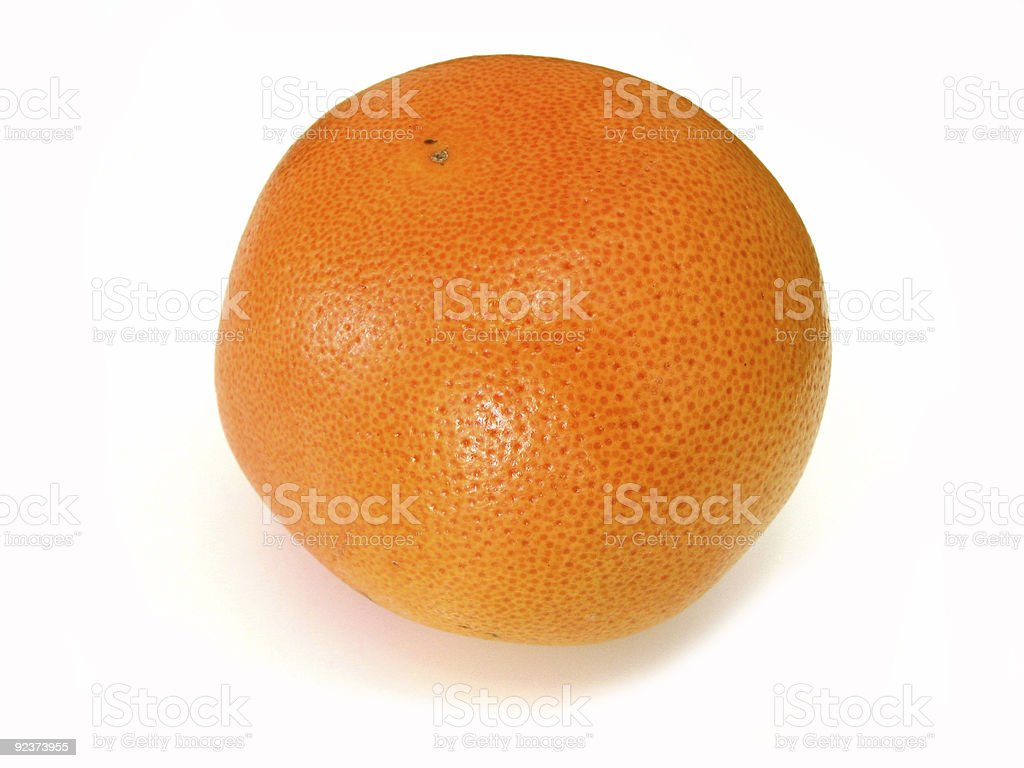 Grapefruit on white royalty-free stock photo