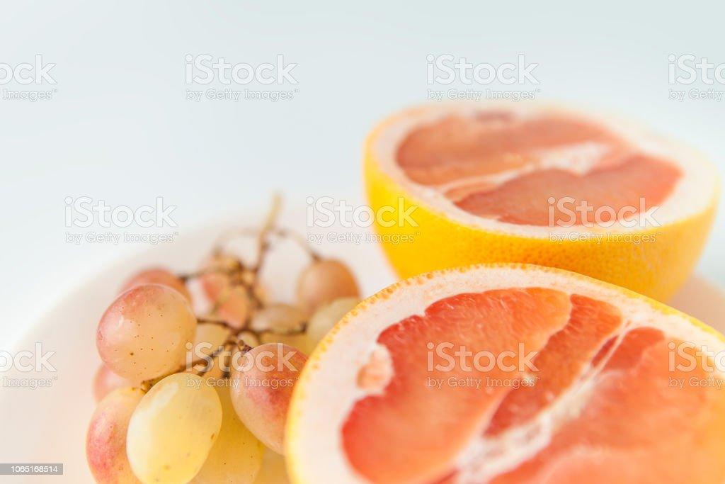 Grapefruitscheiben zur Gewichtsreduktion
