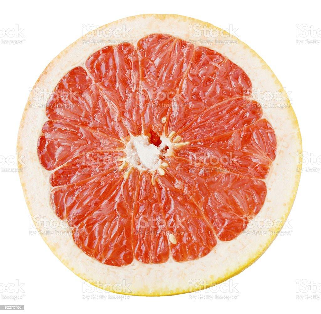 Grapefruit split royalty-free stock photo