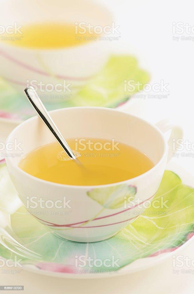 Grapefruit Tea stock photo