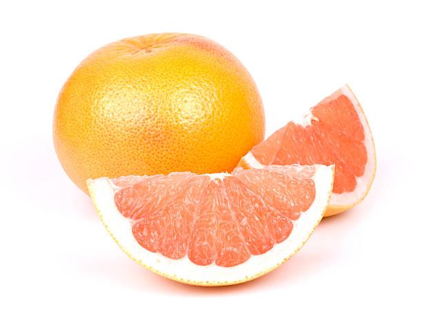 グレープフルーツ、クリッピングパス - グレープフルーツ ストックフォトと画像