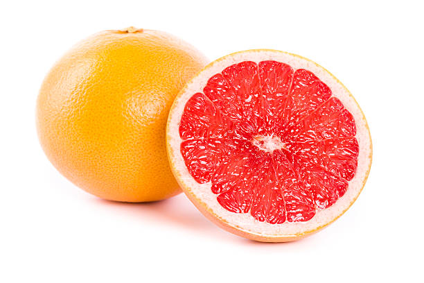 grapefruits stock photo