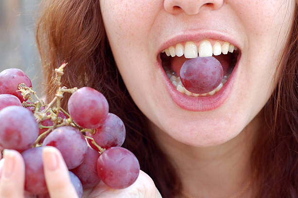 Grapes. stock photo