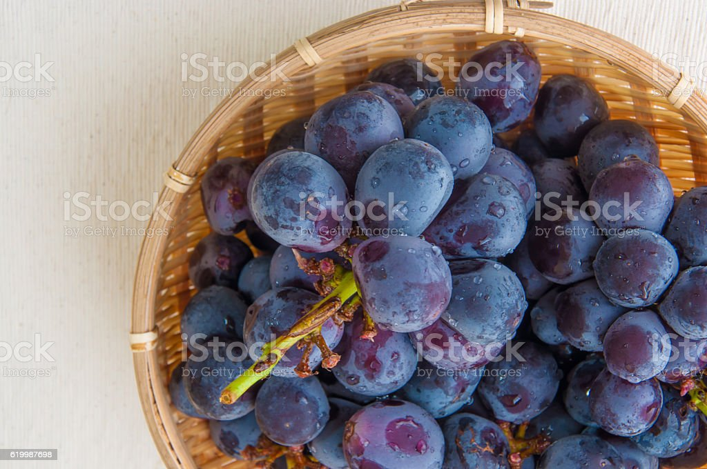 Uvas foto de stock royalty-free