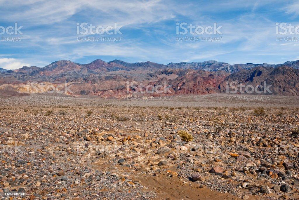Grapevine Mountains stock photo