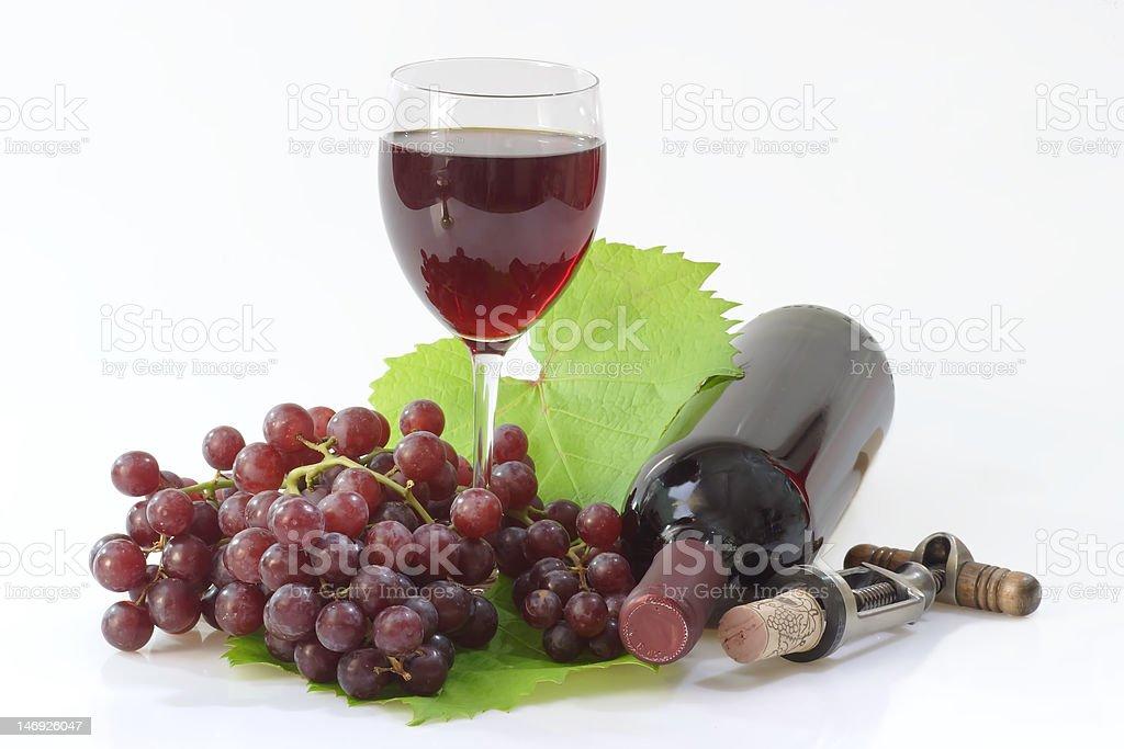 Grapewine stock photo