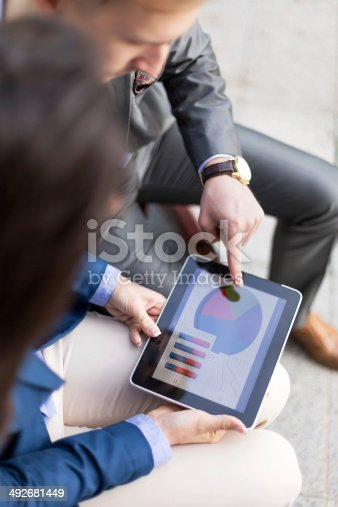 istock Graph and chart 492681449