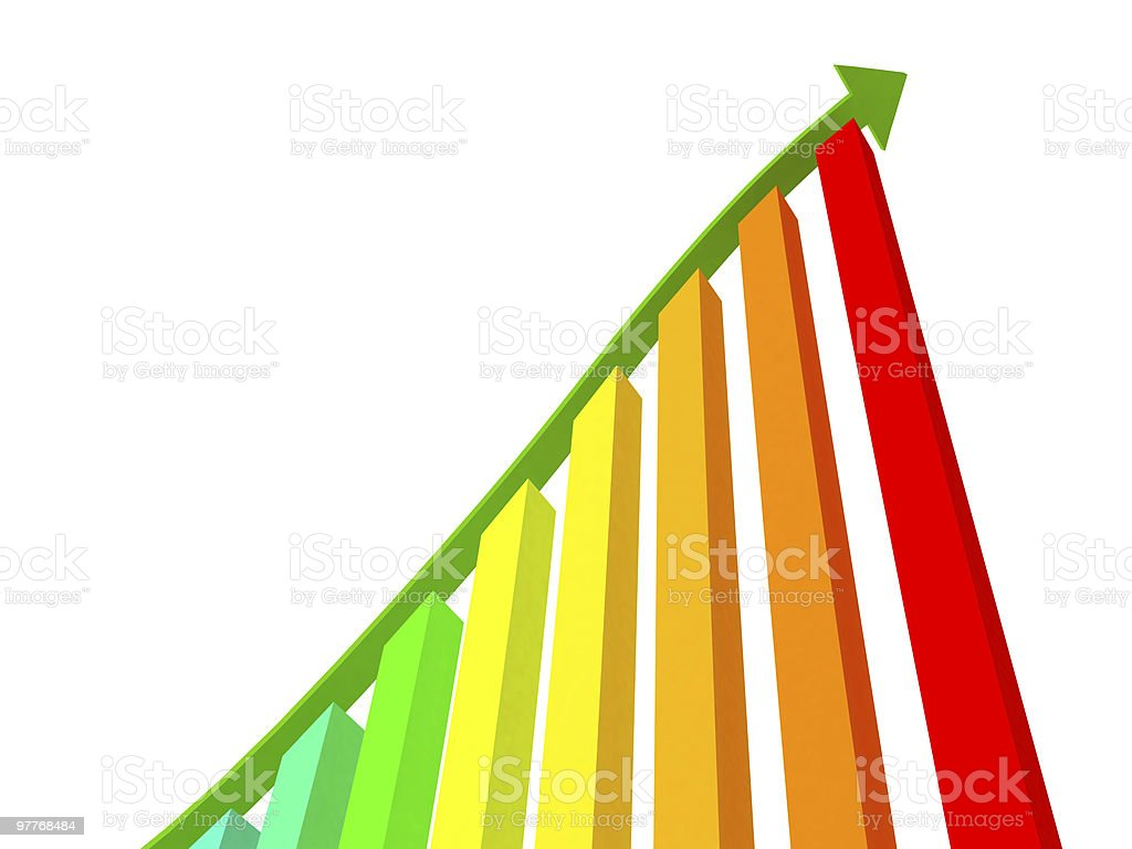 graph diagram royalty-free stock photo
