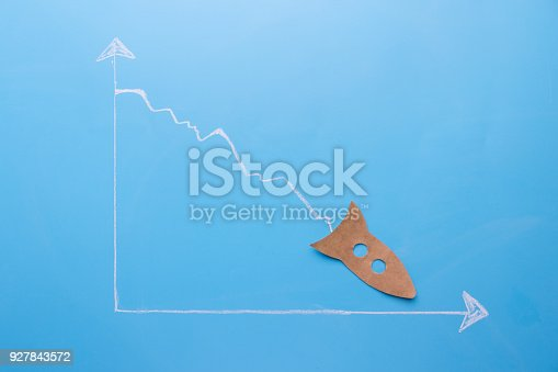 istock graph going down 927843572