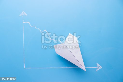 istock graph going down 927843590