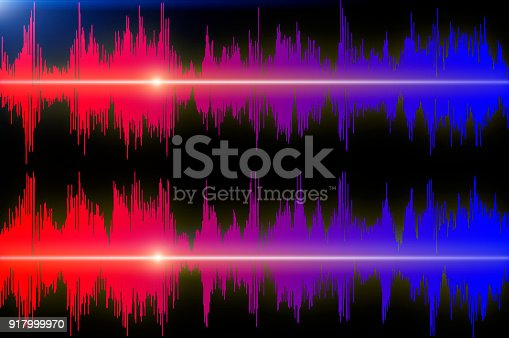 istock Graph of sound 917999970