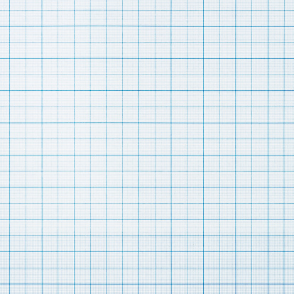 Square photograph of dark blue lined graph paper.