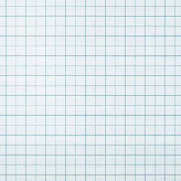 グラフ用紙の背景 - ます目 ストックフォトと画像
