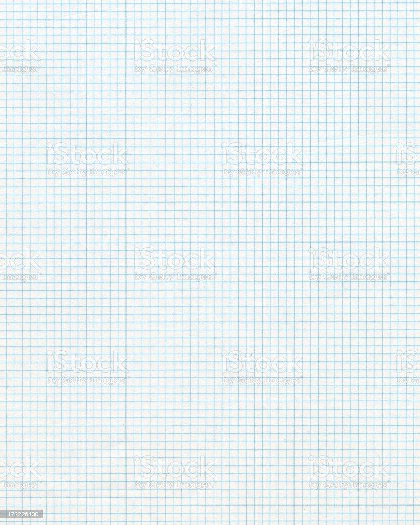 Graph paper clip art photograph stock photo