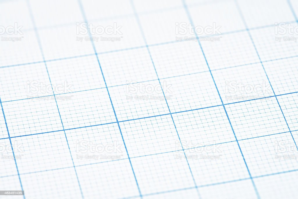Graph Paper Macro Abstract stock photo