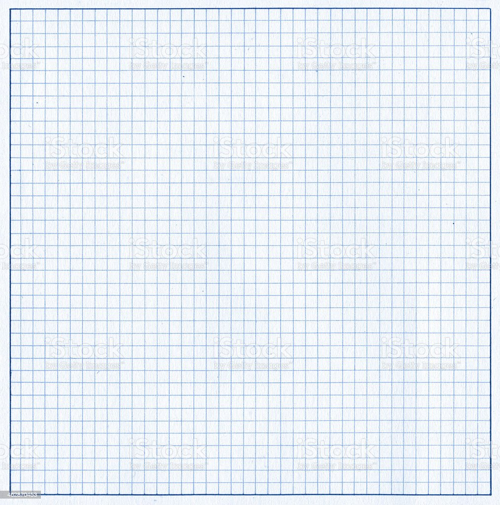 Graph paper page textured background stock photo