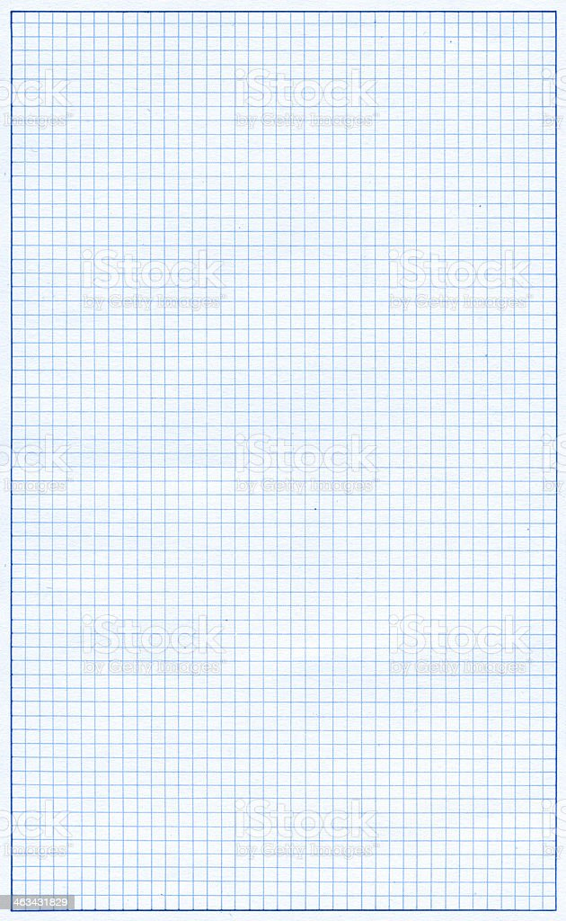 Graph paper page textured background royalty-free stock photo