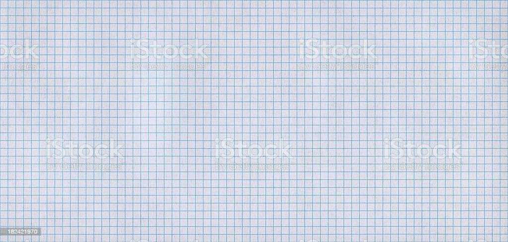 graph paper panorama royalty-free stock photo