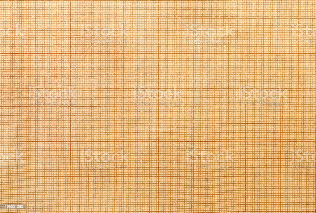 Graph paper. stock photo