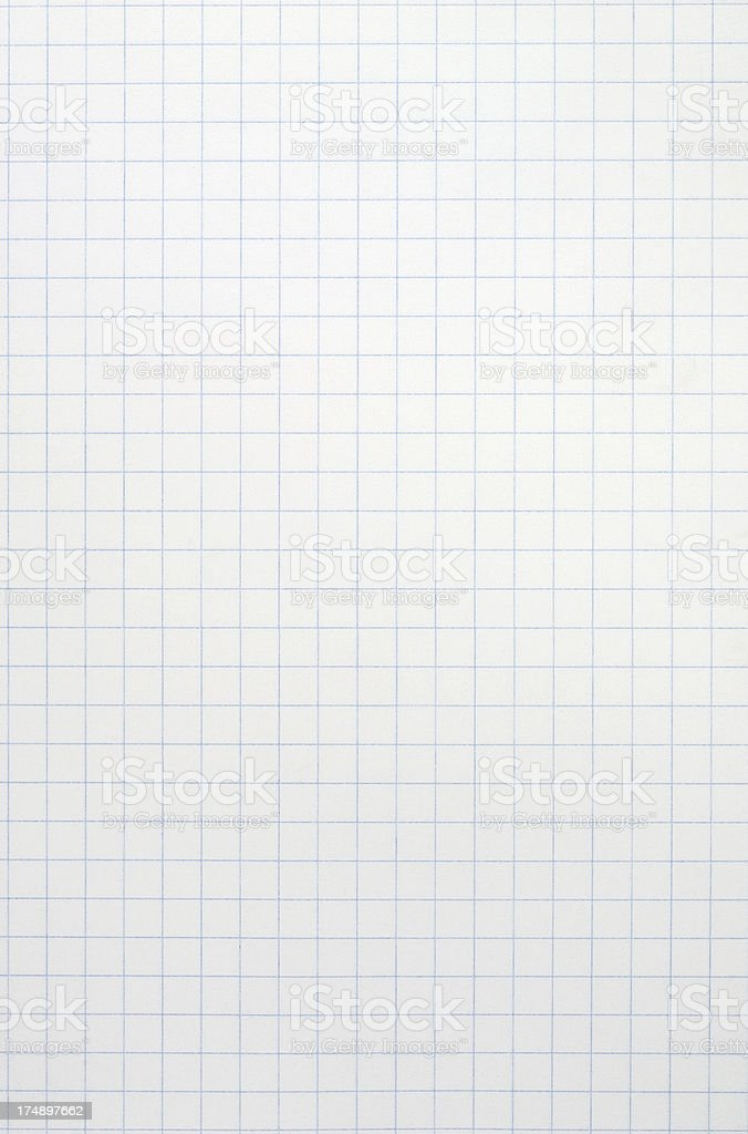 Graph Paper royalty-free stock photo
