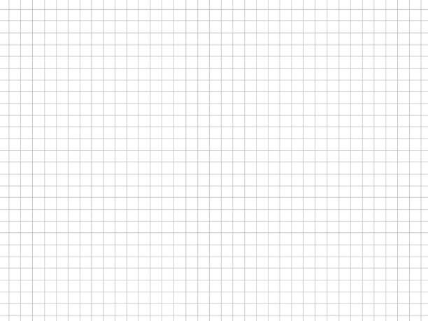 グラフ紙テクスチャーの背景、白い背景に灰色の直線、イラストビジネスオフィスとバスルームの壁。抽象的なテクスチャの背景。 - ます目 ストックフォトと画像