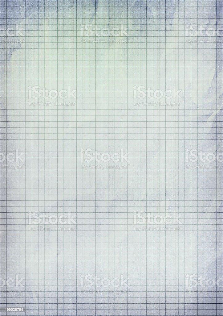 Tło tekstura Papier milimetrowy w stylu vintage. – zdjęcie