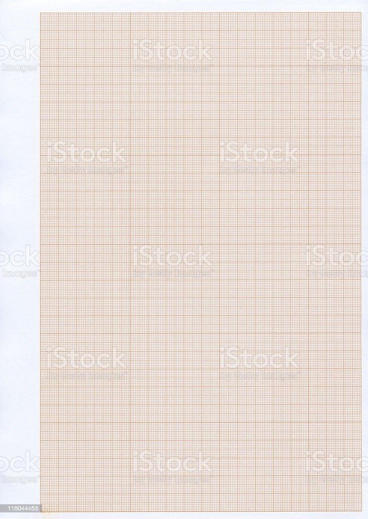 Graph paper XXL royalty-free stock photo