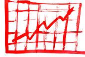 Drawn graph.