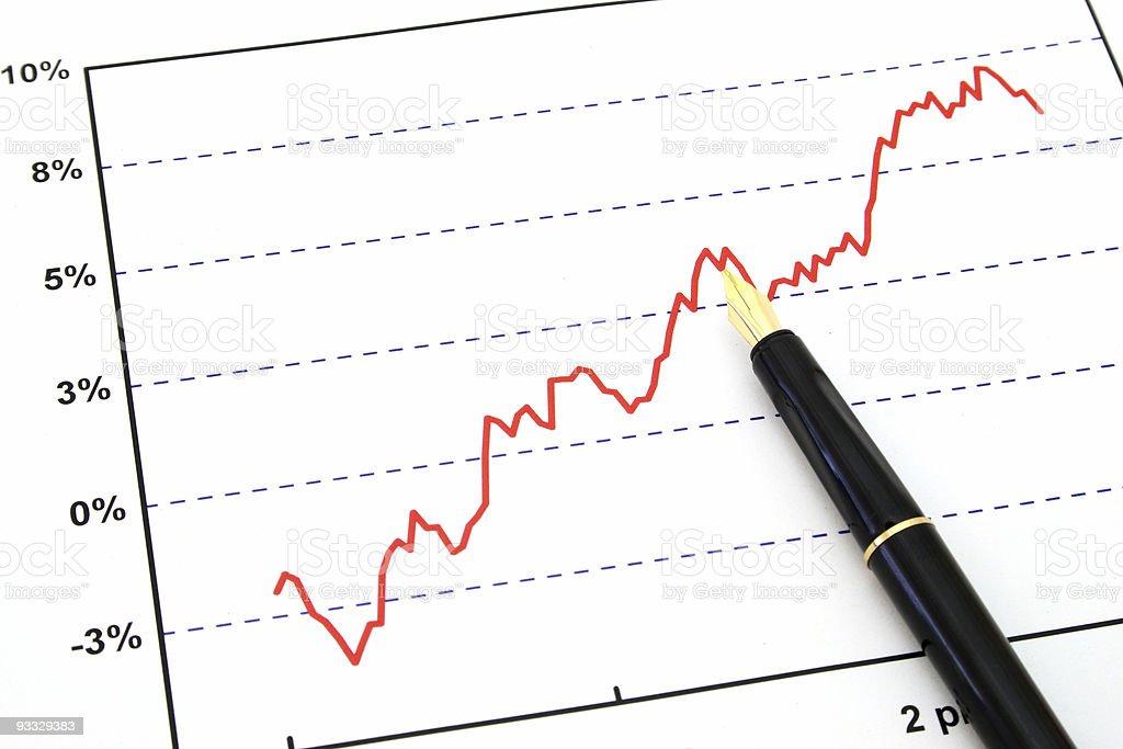 graph stock photo