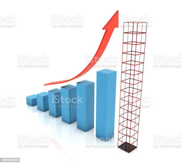 Wykres Planowania Przyszłego Wykresu Wzrostu - zdjęcia stockowe i więcej obrazów Analizować