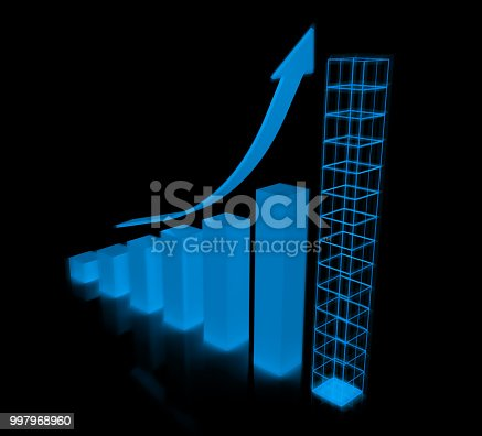 184621300istockphoto Graph planning future growth chart 997968960