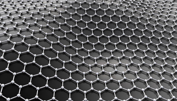 graphene molecular structure - graphene stock photos and pictures