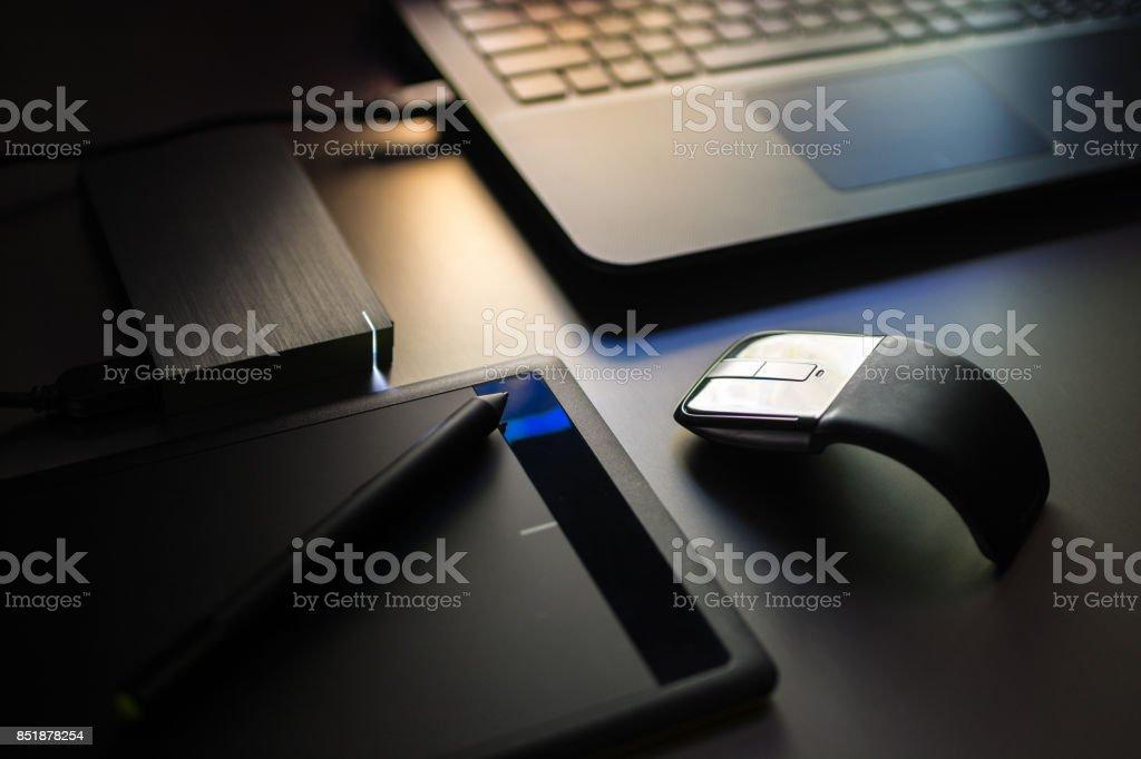 Graphic concept stock photo