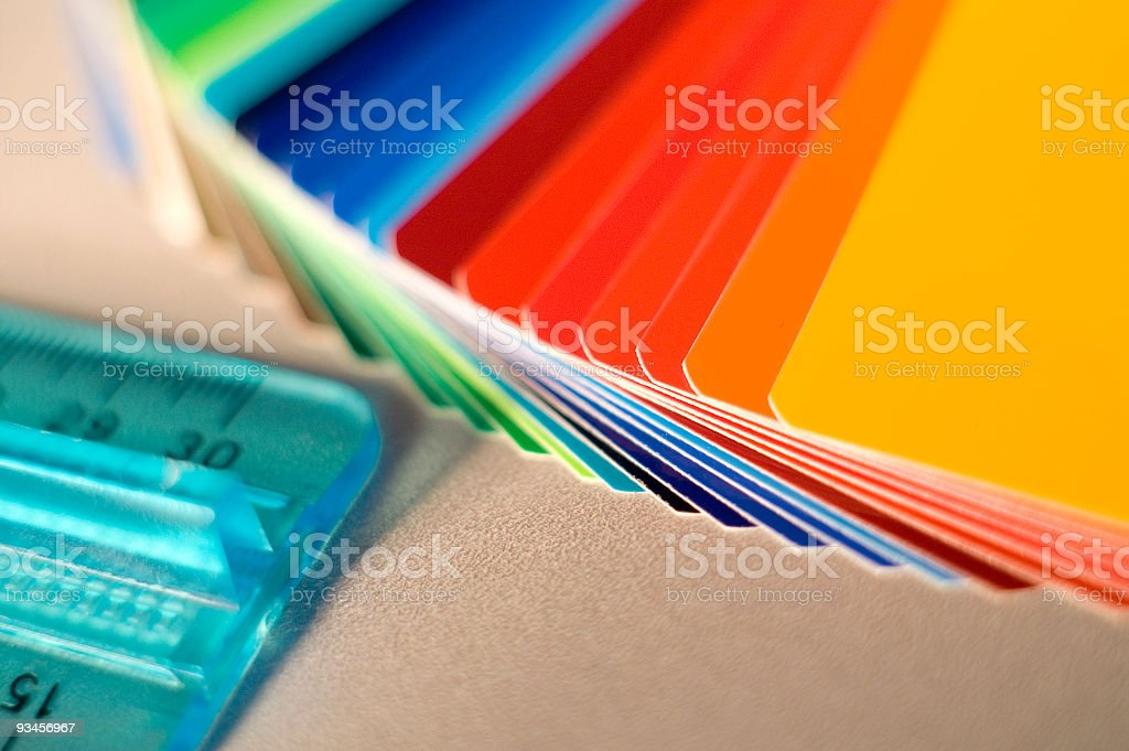 graphic design tools royalty-free stock photo