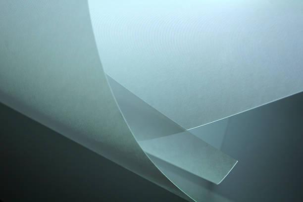 papier gerollten - papierrollen stock-fotos und bilder