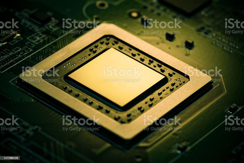 Graphic processor royalty-free stock photo