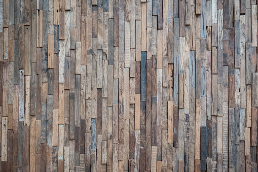 Distressed reclaimed wood slats background