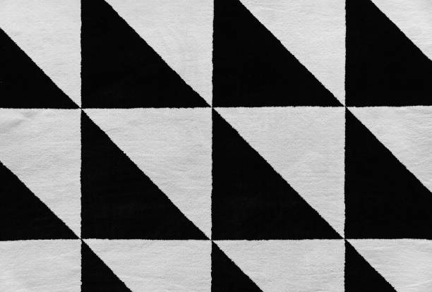 grafisches nahtlose muster. teppich. hintergrund - teppich geometrisch stock-fotos und bilder