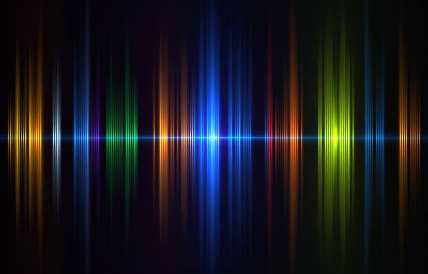 sound wave - frequenzen stock-fotos und bilder