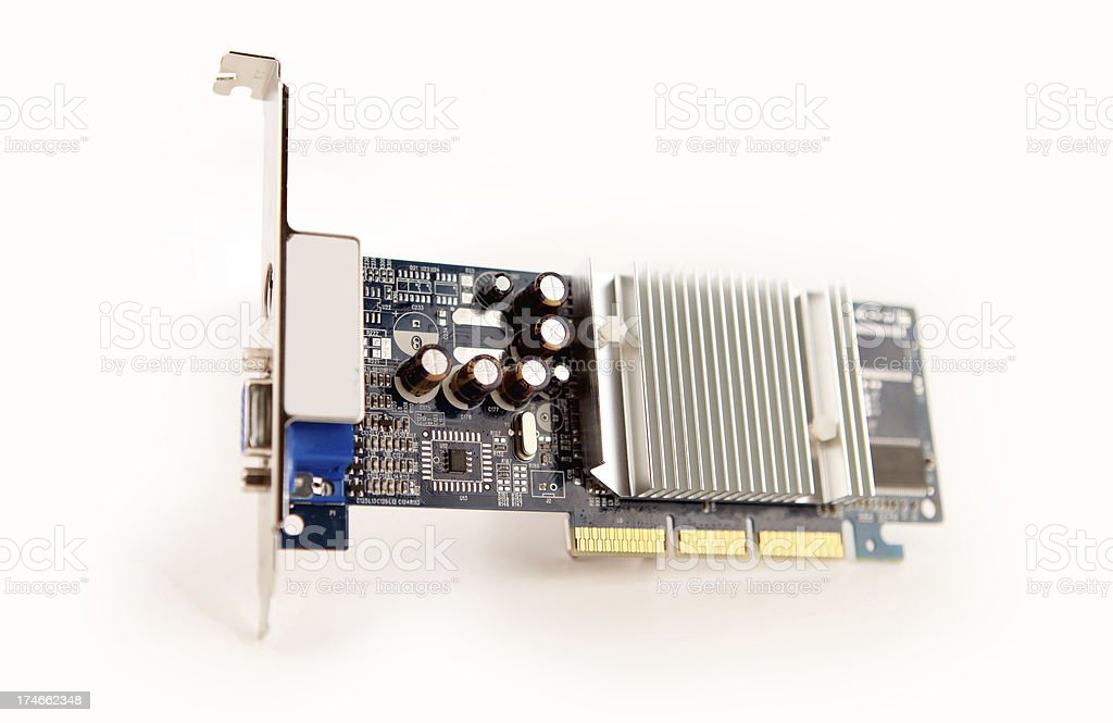 graphics card royalty-free stock photo