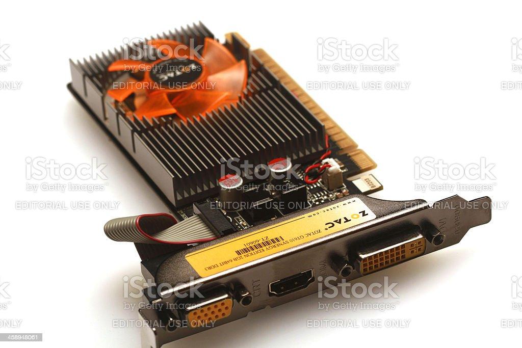 graphics card stock photo