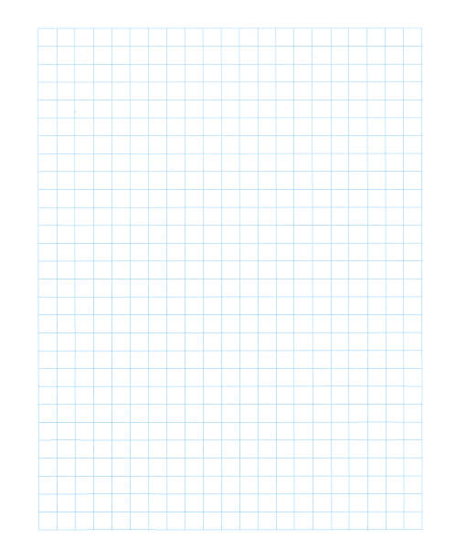 graphing paper xl stock photo