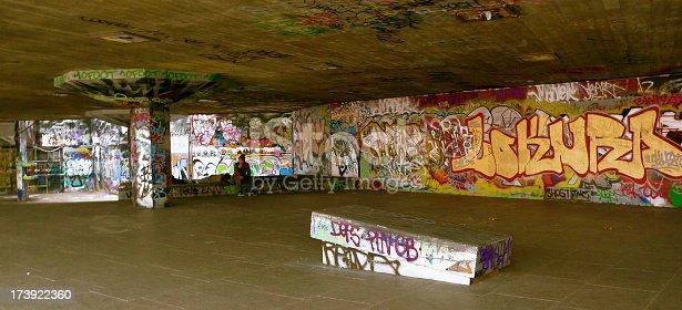 graphitti under a bridge