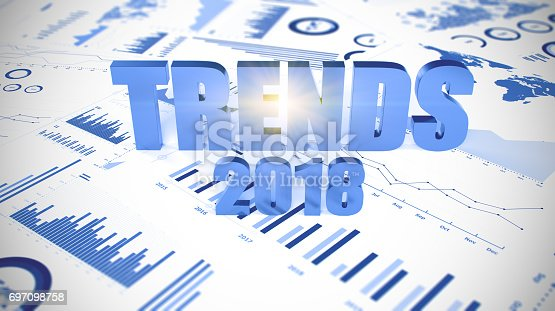 istock Graphs and charts 2018 trends 697098758