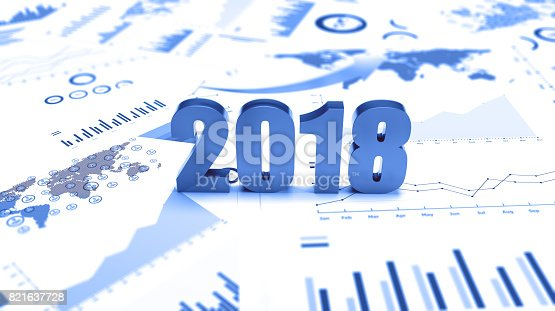 istock Graphs and charts 2018 trends 821637728