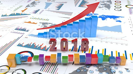 istock Graphs and charts 2018 trends 852642176