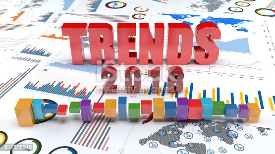 istock Graphs and charts 2018 trends 917378918
