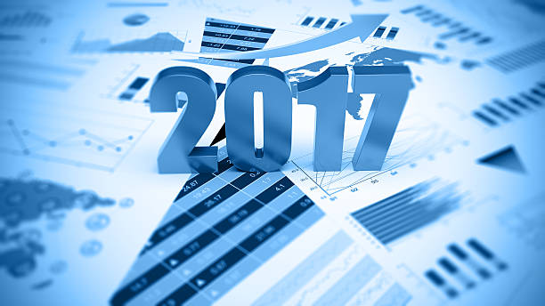 Graphs and charts Graphs,  diagram and charts  with golden arrow 2017 stock pictures, royalty-free photos & images